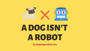dog is not robot